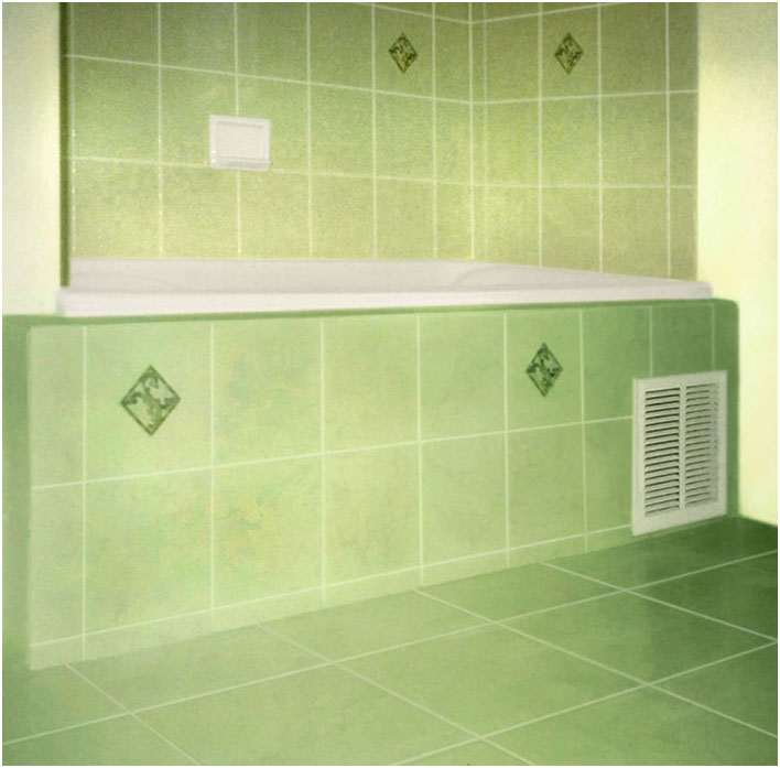 Bathtub Refinishing Referral Network - Tile Painting Kit and How